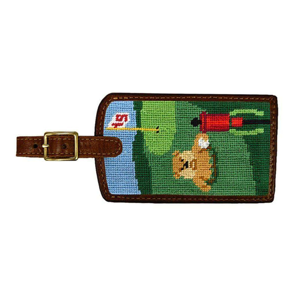 Caddyshack Needlepoint Luggage Tag by Smathers & Branson
