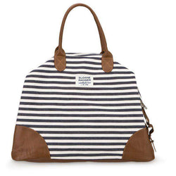 Travel & Gym - Denim Stripe Weekender By Sloane Ranger
