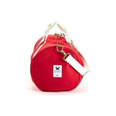 Hampton Duffel in Fire Red by Blue Claw Co.