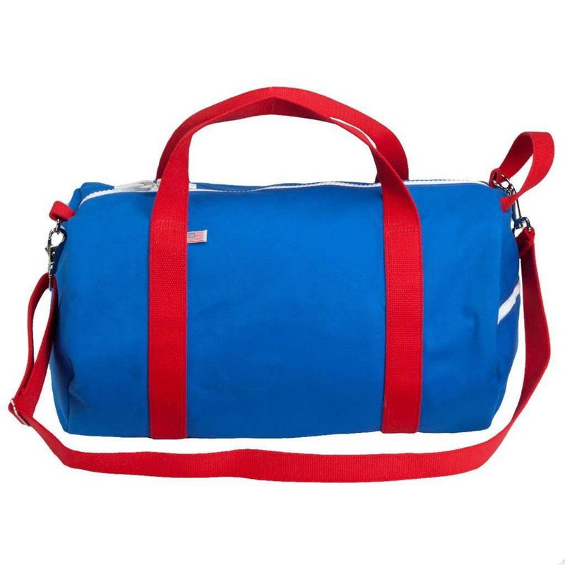 Travel & Gym - Lake Placid Commuter Duffel In Blue Bird By Hudson Sutler