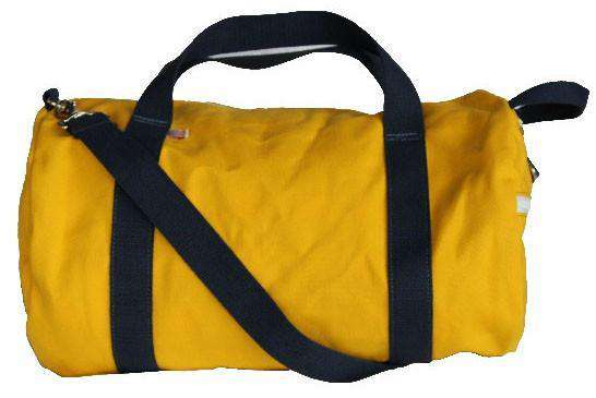 Travel & Gym - Oahu Commuter Duffel In Yellow By Hudson Sutler