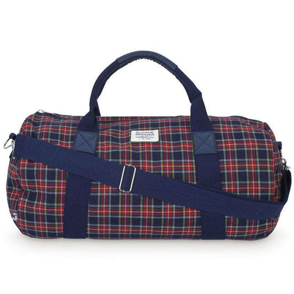 Traditional Plaid Duffle Bag by Sloane Ranger