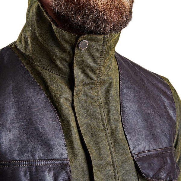 Land Rover Traveller Wax Jacket in Olive by Barbour - FINAL SALE