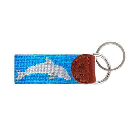 Smathers and Branson Delta Delta Delta Needlepoint Key Fob by Smathers & Branson
