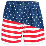 Two If By Sea Swim Trunk in Red, White and Blue by Southern Tide  - 2