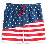 Two If By Sea Swim Trunk in Red, White and Blue by Southern Tide  - 1