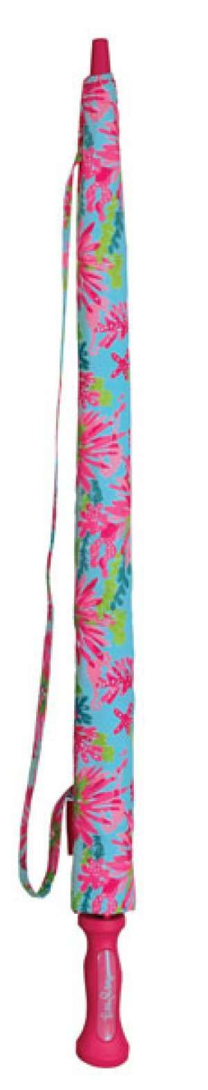 Umbrellas - Large Golf Umbrella In Trippin And Sippin By Lilly Pulitzer
