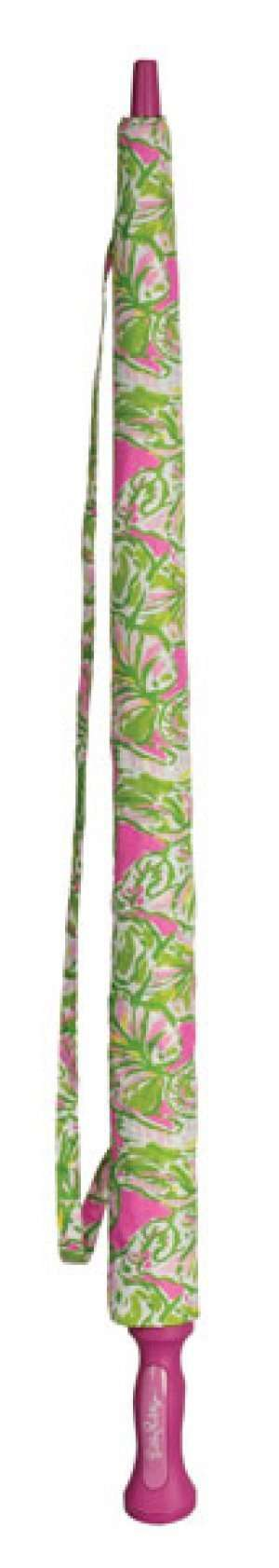 Umbrellas - Large Umbrella In Elephant Ears By Lilly Pulitzer