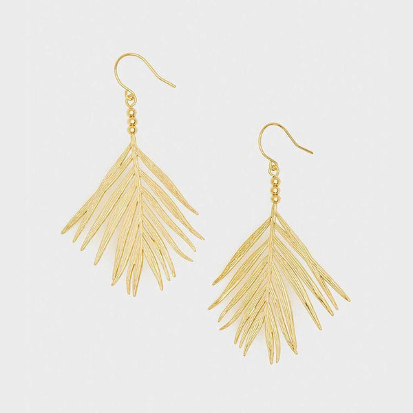 Gorjana Palm Drop Earrings by Gorjana