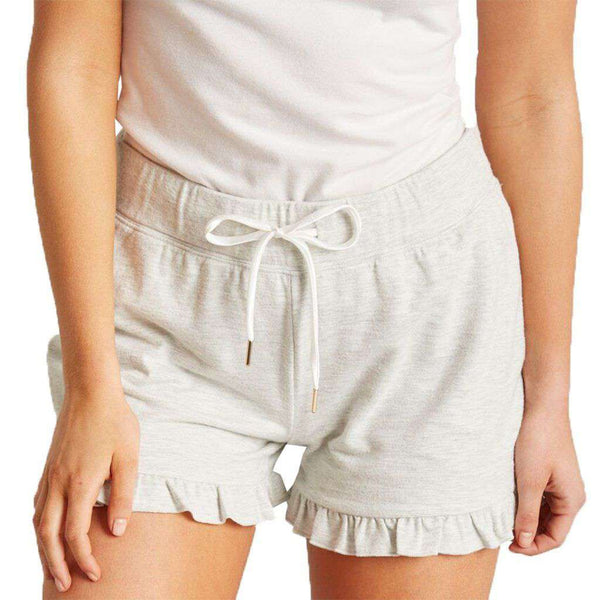 Lauren James Aubrey Ruffle Hem Short