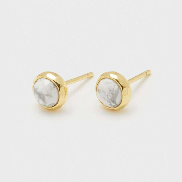 "Gorjana Power Gemstone ""Calming"" Stud by Gorjana"