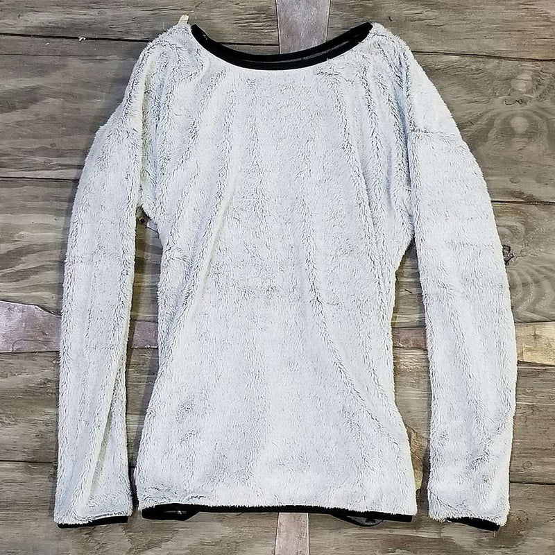 Nordic Fleece The Visby Frosty Top Sweater in Grey by Nordic Fleece