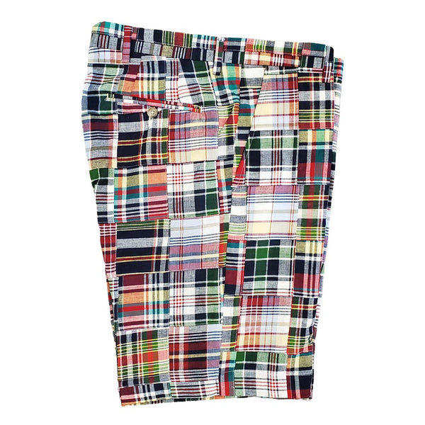 Montauk Madras Shorts by Country Club Prep