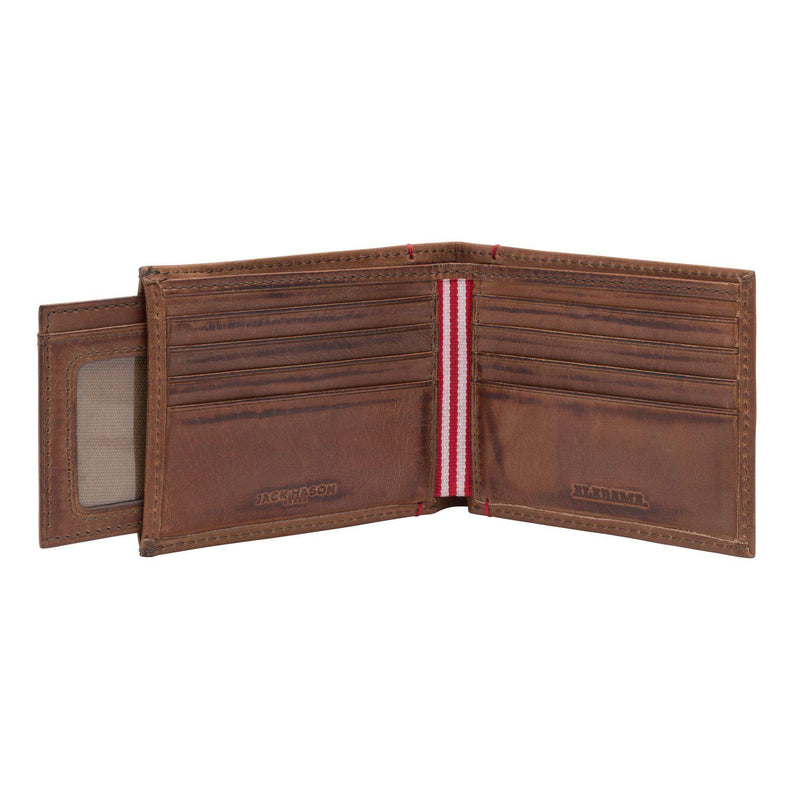 Wallets - Alabama Crimson Tide Campus Sliding 2 In 1 By Jack Mason