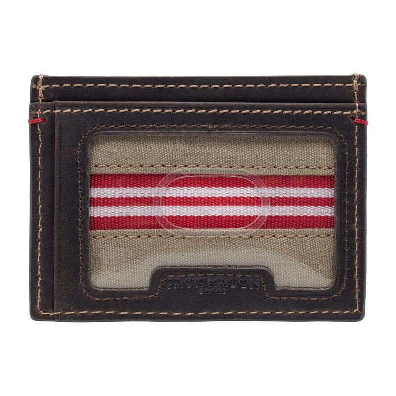 Wallets - Alabama Crimson Tide Hangtime ID Window Card Case By Jack Mason