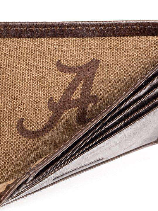 Wallets - Alabama Crimson Tide Legacy Traveler Wallet By Jack Mason