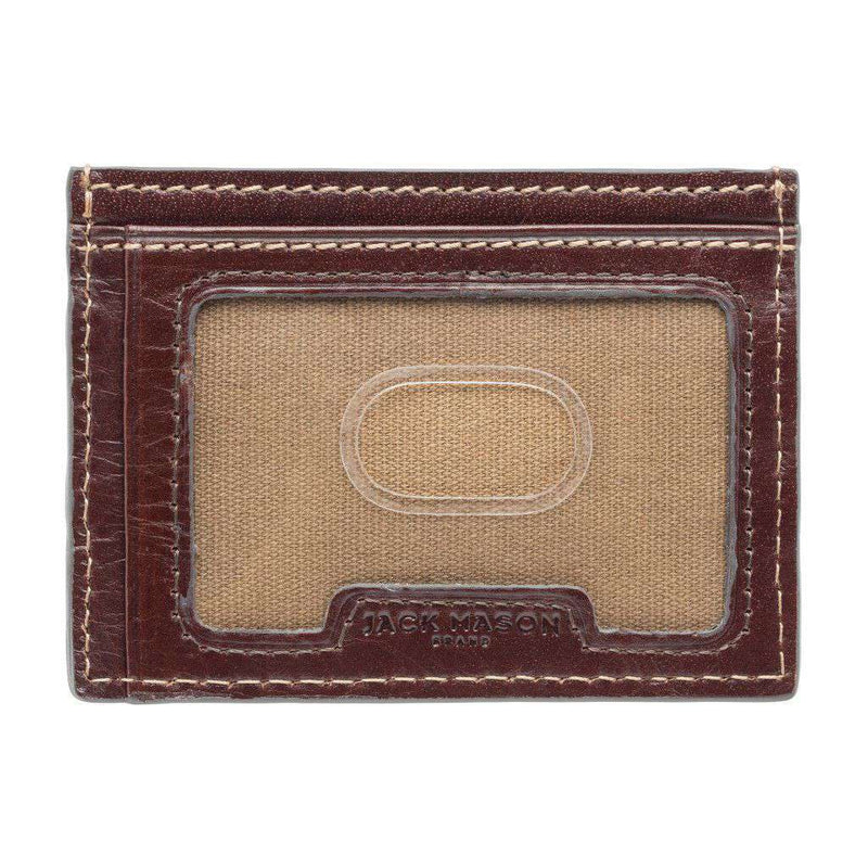 Wallets - Alabama Crimson Tide Tailgate ID Window Card Case By Jack Mason