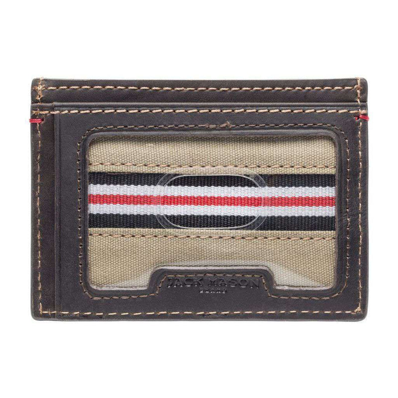 Wallets - Arkansas Razorbacks Hangtime ID Window Card Case By Jack Mason
