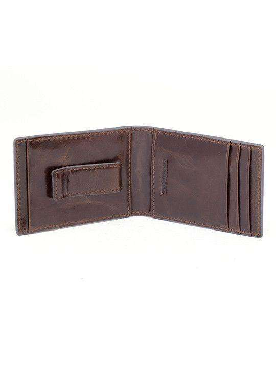 Wallets - Arkansas Razorbacks Legacy Flip Bifold Front Pocket Wallet By Jack Mason