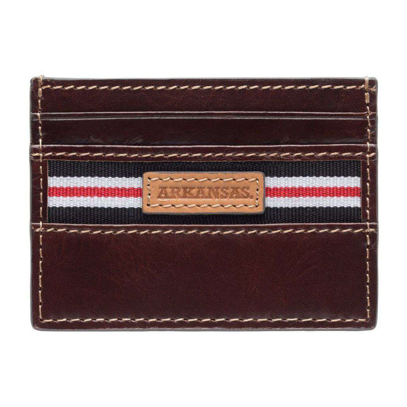 Wallets - Arkansas Razorbacks Tailgate ID Window Card Case By Jack Mason