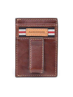 Wallets - Arkansas Razorbacks Tailgate Multicard Front Pocket Wallet By Jack Mason