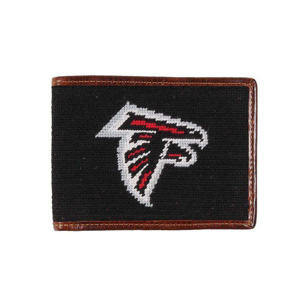 Atlanta Falcons Needlepoint Wallet by Smathers & Branson
