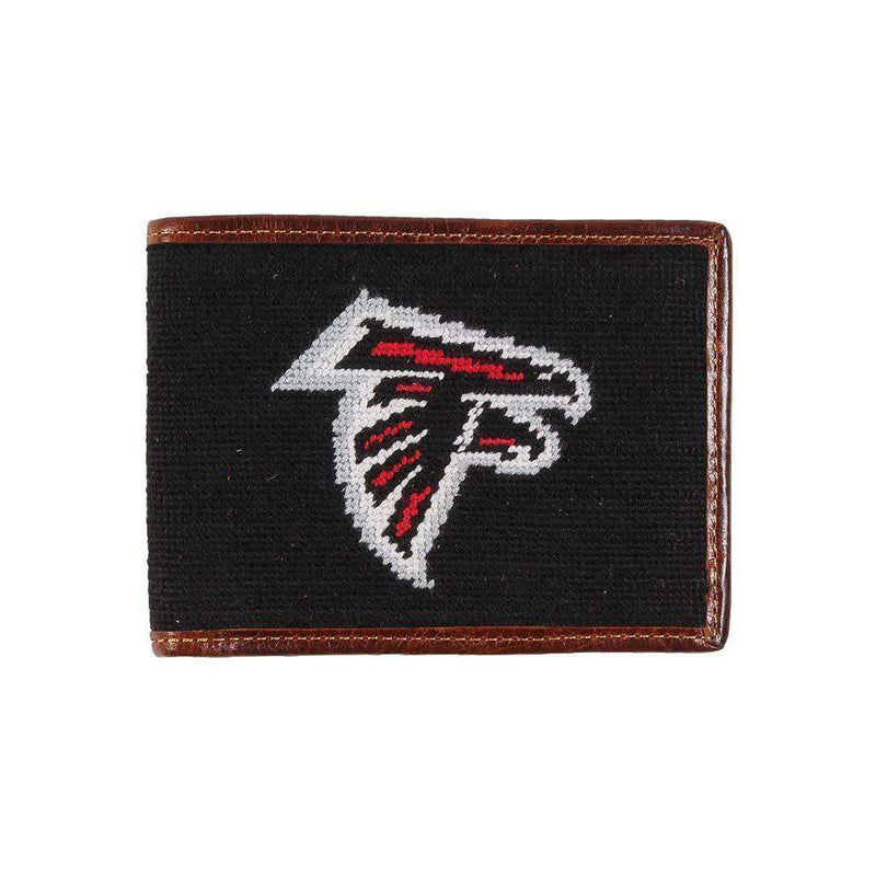 Wallets - Atlanta Falcons Needlepoint Wallet By Smathers & Branson