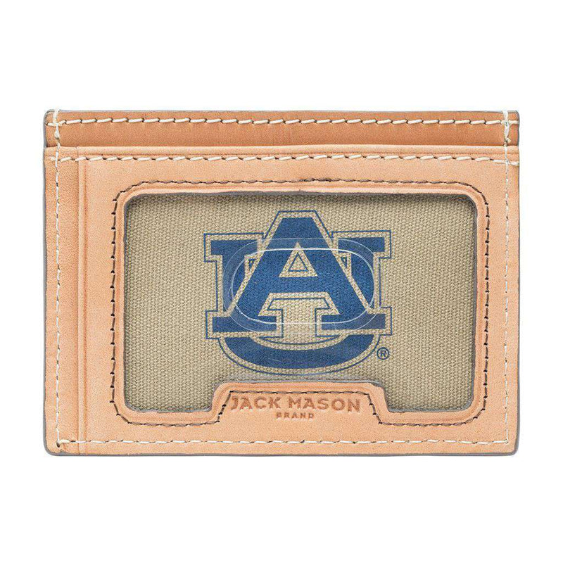 Wallets - Auburn Tigers Gameday ID Window Card Case By Jack Mason