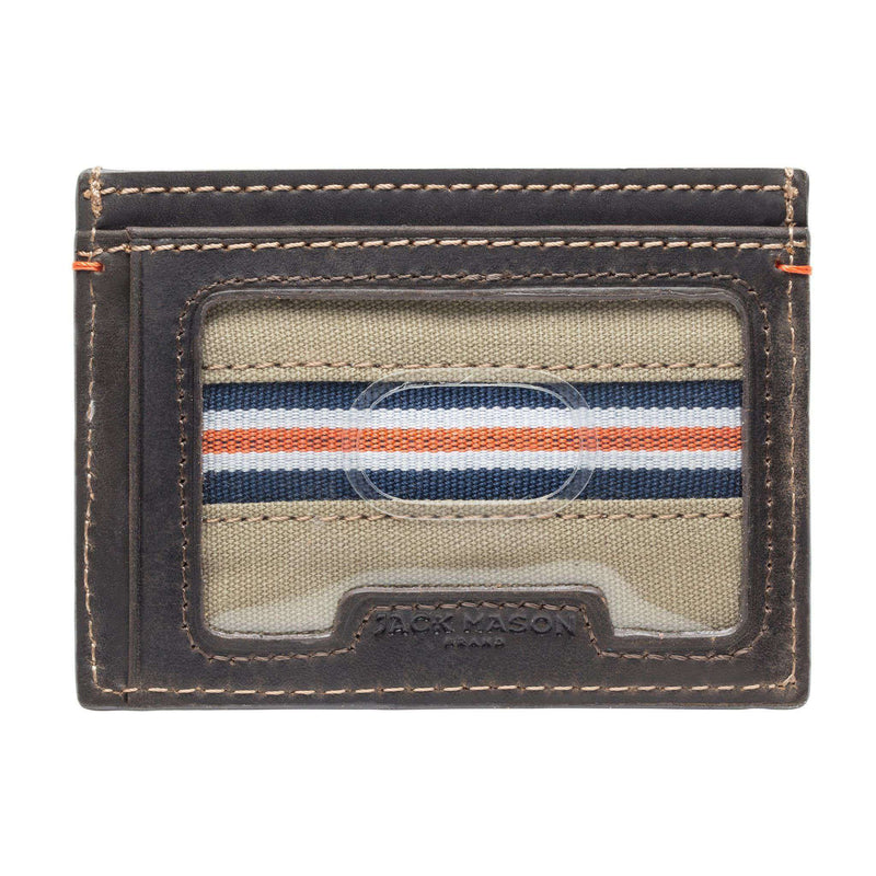 Wallets - Auburn Tigers Hangtime ID Window Card Case By Jack Mason