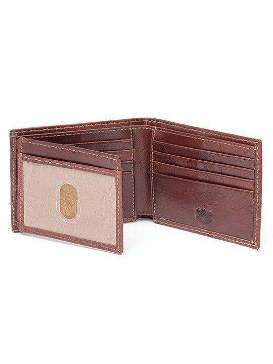Wallets - Auburn Tigers Tailgate Traveler Wallet By Jack Mason