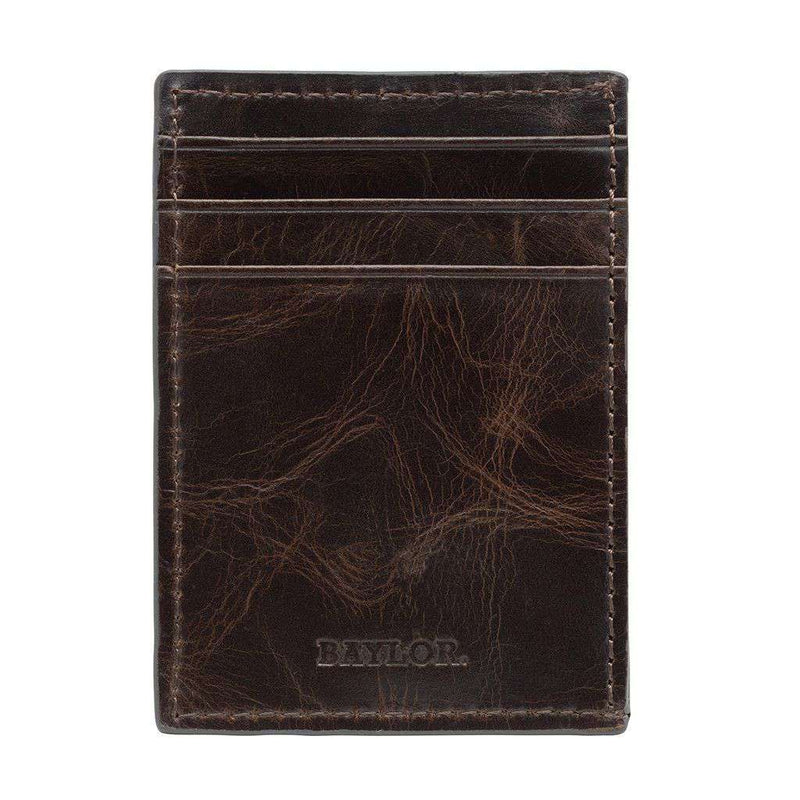 Wallets - Baylor Bears Legacy Multicard Front Pocket Wallet By Jack Mason