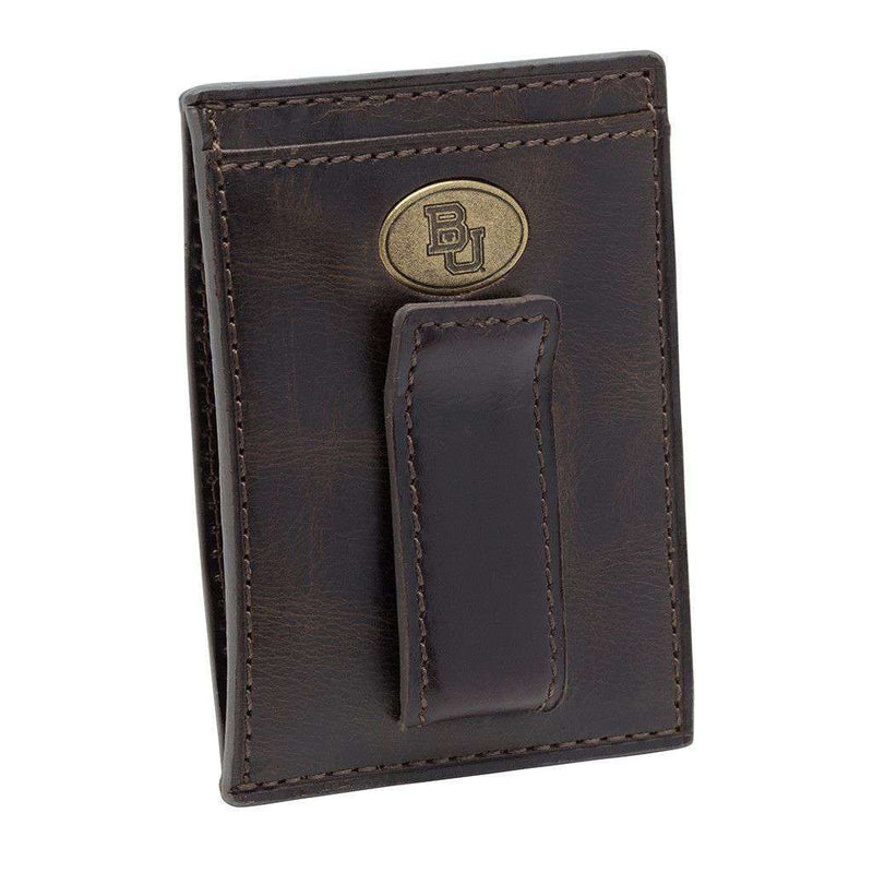 Baylor Bears Legacy Multicard Front Pocket Wallet by Jack Mason - FINAL SALE