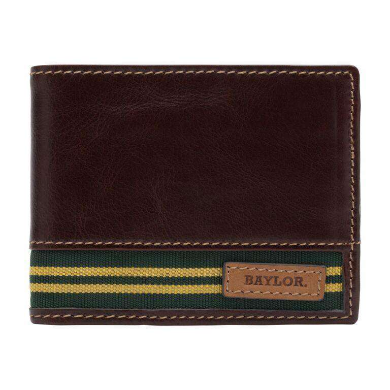 Wallets - Baylor Bears Tailgate Traveler Wallet By Jack Mason