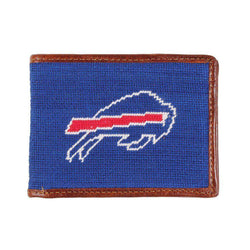 Buffalo Bills Needlepoint Wallet by Smathers & Branson