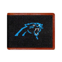 Carolina Panthers Needlepoint Wallet by Smathers & Branson