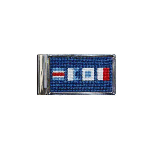 Wallets - CASH Needlepoint Money Clip By Smathers & Branson