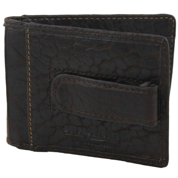 Cheyenne Dual Fold Pocket Wallet in Brown by Buffalo Jackson
