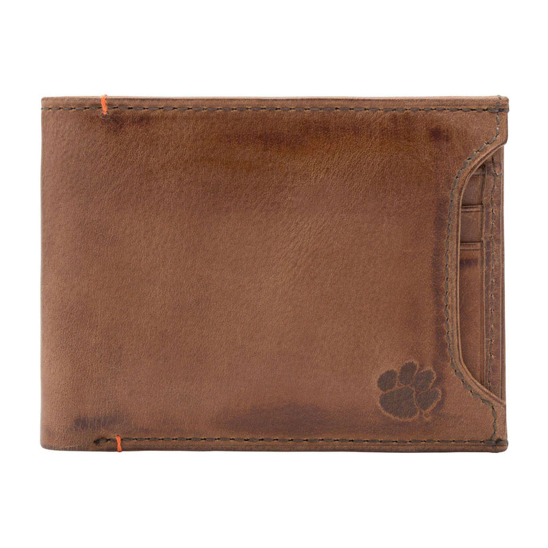 Wallets - Clemson Tigers Campus Sliding 2 In 1 By Jack Mason