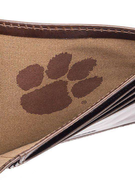 Clemson Tigers Legacy Traveler Wallet by Jack Mason - FINAL SALE