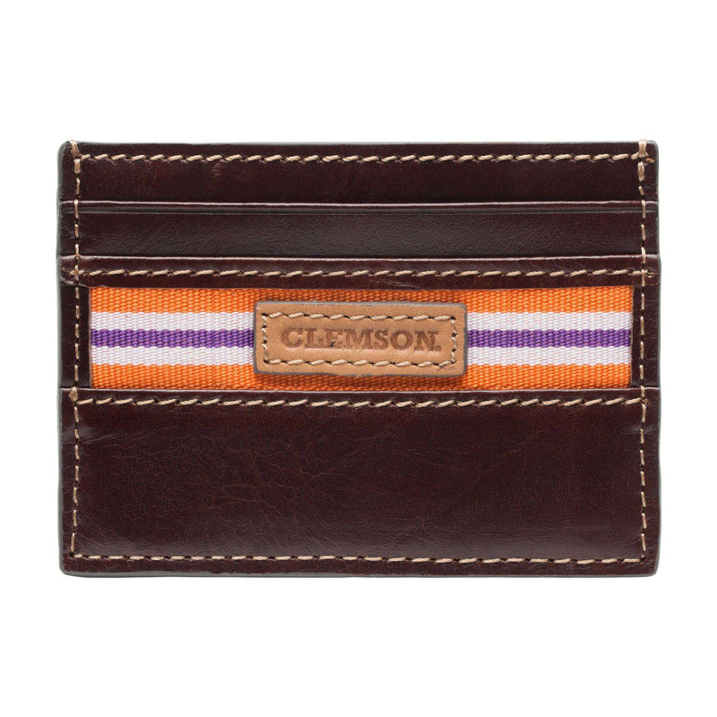 Wallets - Clemson Tigers Tailgate ID Window Card Case By Jack Mason