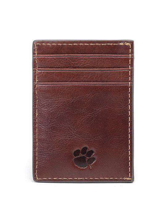 Wallets - Clemson Tigers Tailgate Multicard Front Pocket Wallet By Jack Mason