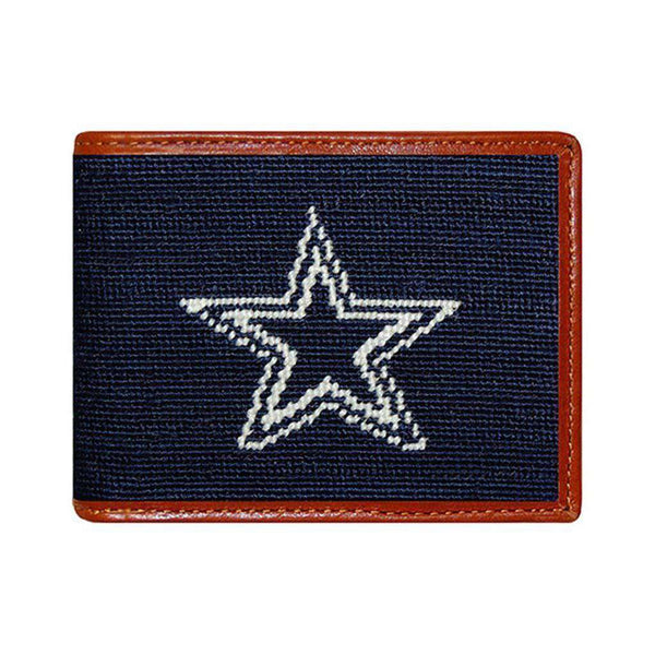 Wallets - Dallas Cowboys Needlepoint Wallet By Smathers & Branson