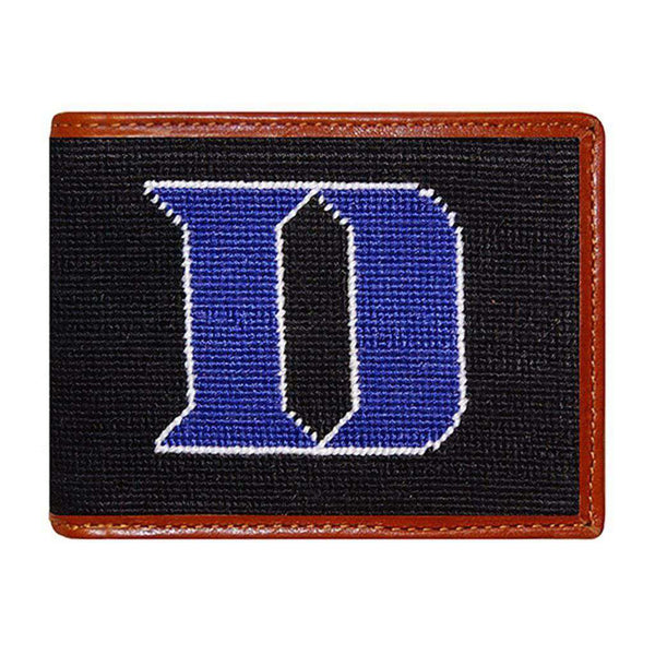 Wallets - Duke University Needlepoint Wallet By Smathers & Branson