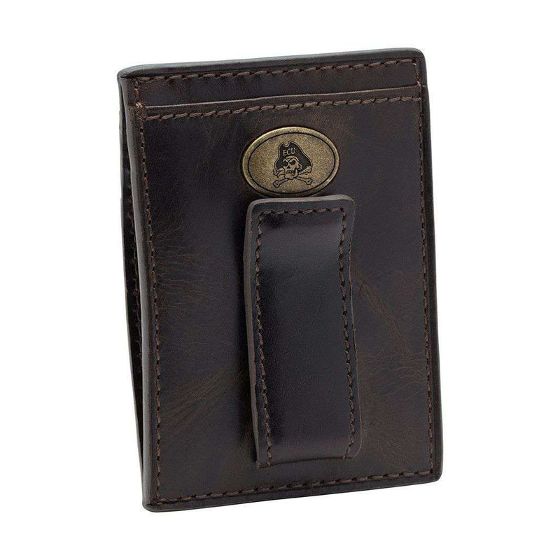 Wallets - East Carolina Pirates Legacy Multicard Front Pocket Wallet By Jack Mason