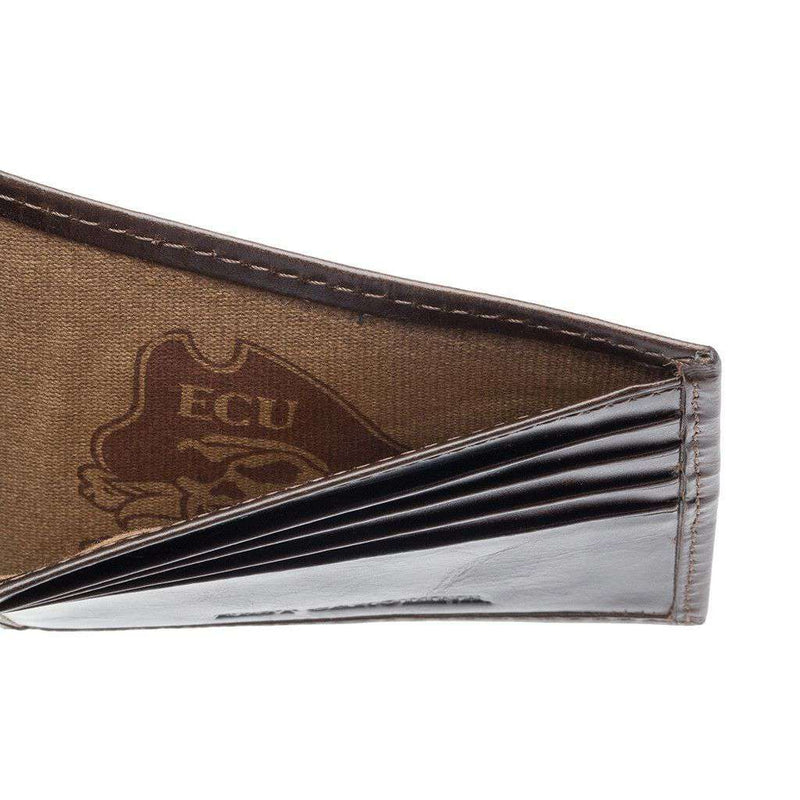 East Carolina Pirates Legacy Traveler Wallet by Jack Mason - FINAL SALE