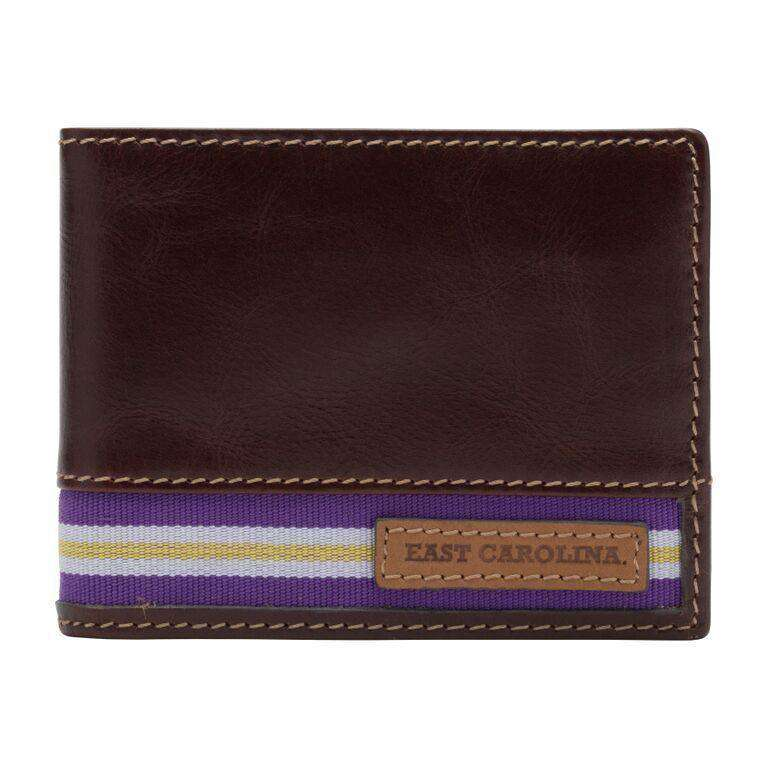 Wallets - East Carolina Pirates Tailgate Traveler Wallet By Jack Mason