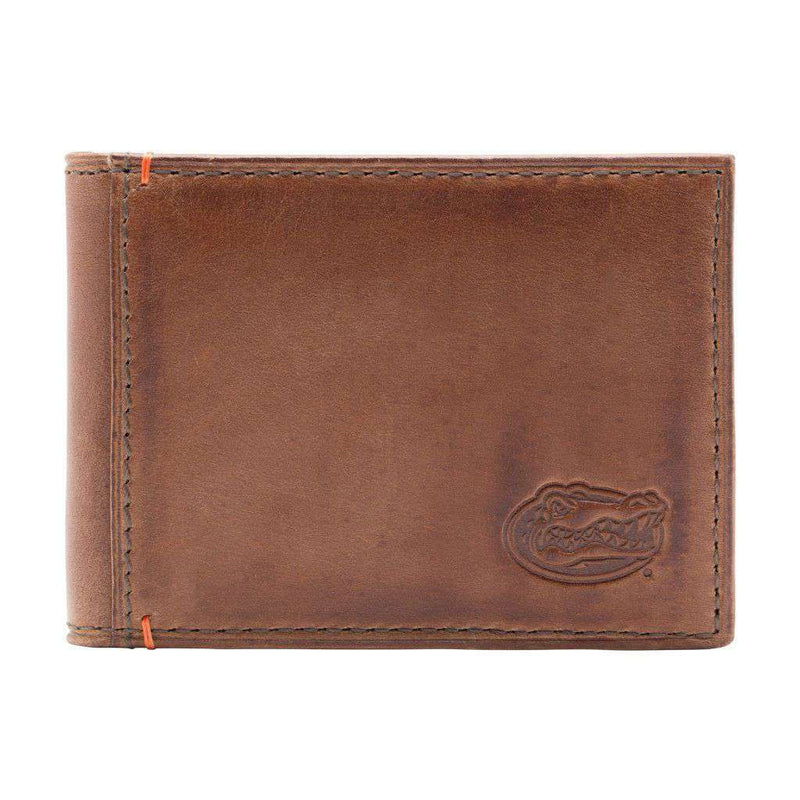 Wallets - Florida Gators Campus Flip Bifold Front Pocket Wallet By Jack Mason