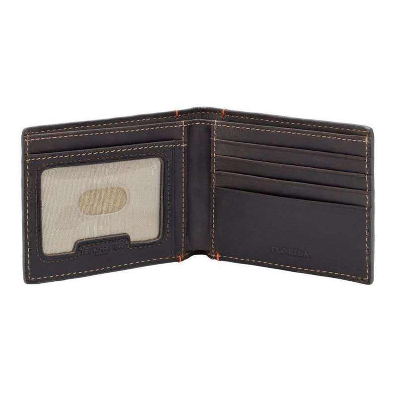 Wallets - Florida Gators Hangtime Slim Bifold Wallet By Jack Mason