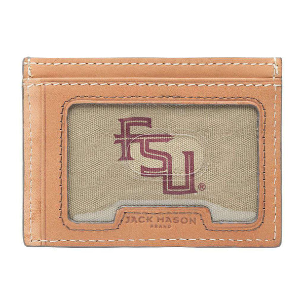 Wallets - Florida State Seminoles Gameday ID Window Card Case By Jack Mason