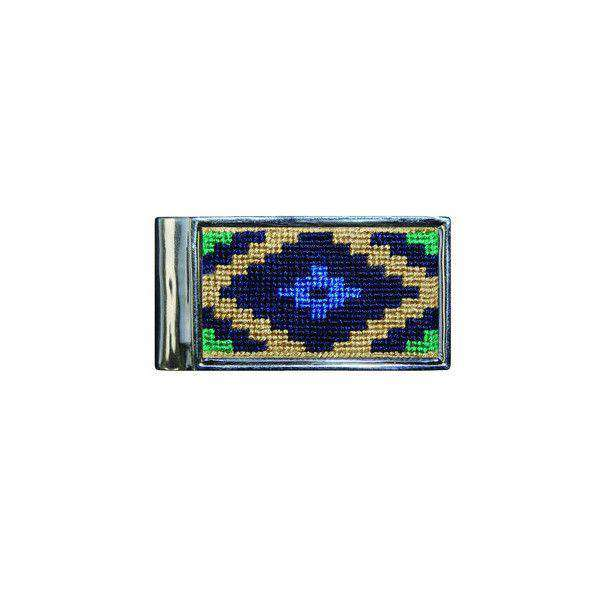 Wallets - Gaucho Needlepoint Money Clip By Smathers & Branson